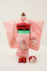 3歳女の子帯セットC 12,000円(税込13,200円)