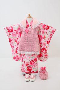 3歳女の子被布セットA 17,000円(税込18,700円)