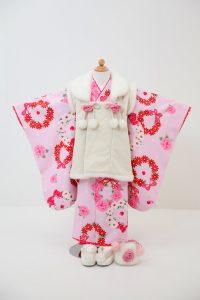 3歳女の子被布セットC 11,000円(税込12,100円)