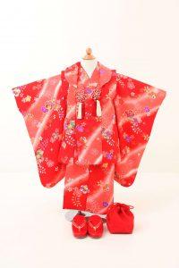 3歳女の子被布セットD 9,000円(税込9,900円)